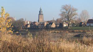 De beroemde skyline van Zutphen